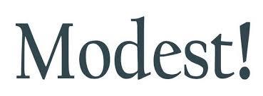Modest! Management logo